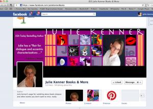 JulieKennerBooks Facebook Page