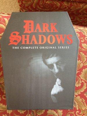 Dark Shadows DVD Box - a cool coffin with Barnabus