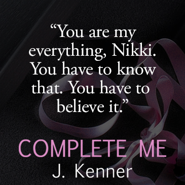 Infographic for Complete Me by J. Kenner created by Eternal Romance