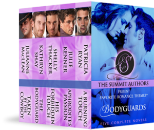 Summit Authors Bodyguard Boxed Set with Julie Kenner's Aphrodite's Kiss