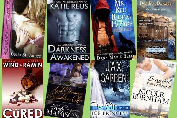 Hump Day books from Bella St. James, Katie Reus, Dana Marie Bell, Joanna Campbell Slan, David Wind & Terese Ramin, Katy Madison, Jax Garren, and Nicole Burnham!