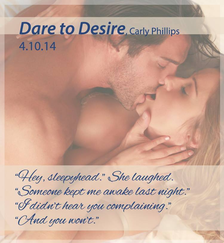 Carly Phillips Dare to Desire teaser
