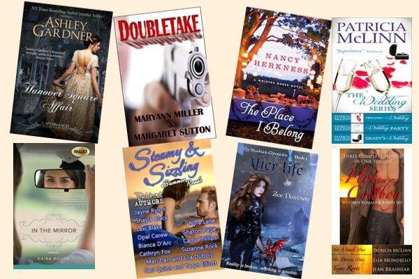 Hump Day books from Ashley Gardner, Maryann Miller, Nancy Herkness, Patricia McLinn, Kaira Rouda, Carly Phillips, Zoe Dawson, and Jean Brashear!
