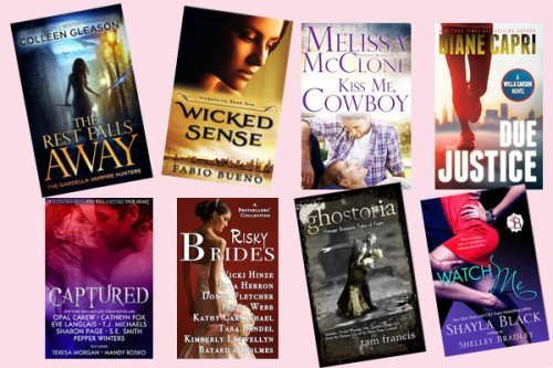 Hump Day books from Colleen Gleason, Fabio Bueno, Melissa McClone, Diane Capri, Cathryn Fox, Vicki Hinze, Tam Francis, and Shayla Black!
