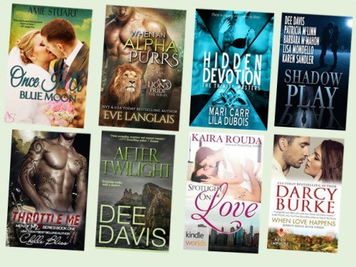 Hump Day books from Amie Stuart, Eve Langlais, Mari Carr, Lisa Mondello, Chelle Bliss, Dee Davis, Kaira Rouda and Darcy Burke!