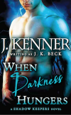 When Darkness Hungers - Print Cover