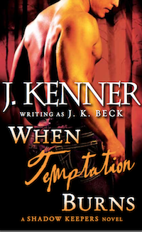 When Temptation Burns - Print Cover