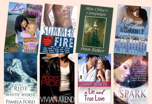 Hump Day books from Ann Christopher, Gennita Low, Fran Baker, Dale Mayer, Pam Ford, Vivian Arend, Sheila Seabrook, and Brenda Hiatt!