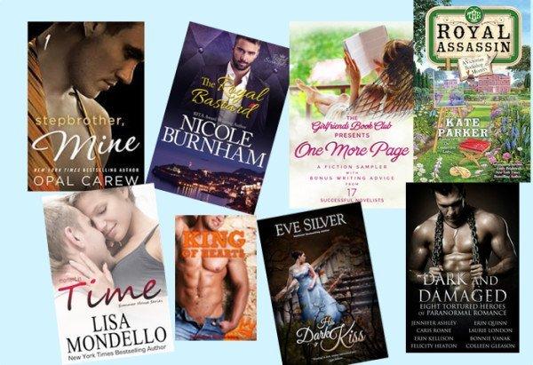 Hump Day books from Opal Carew, Nicole Burnham, Maggie Marr, Kate Parker, Lisa Mondello, Jennifer Stevenson, Eve Silver, and Bonnie Vanak!