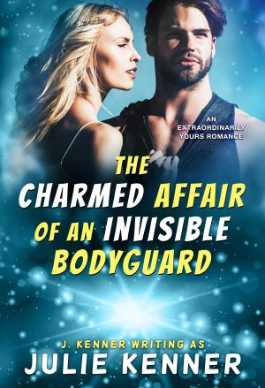 The Charmed Affair of an Invisible Bodyguard - Digital Cover