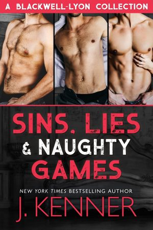 Sins, Lies & Naughty Games - Digital Cover